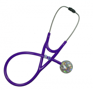 Stethoscope with charms